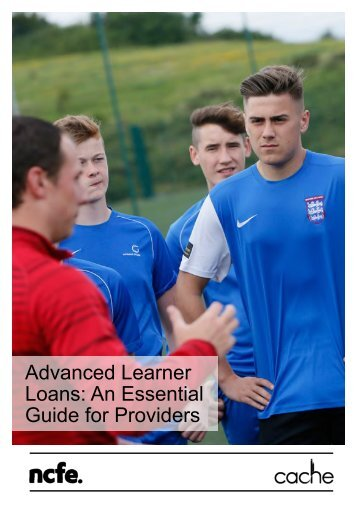 Advanced Learner Loans An Essential Guide for Providers