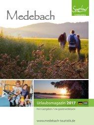 Urlaubsmagazin Medebach 2017