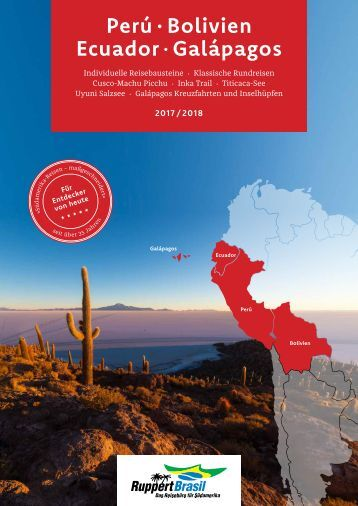 Peru Bolivien Ecuador