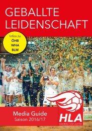 HANDBALL LIGA AUSTRIA - Media Guide