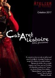 Cabaret Aléatoire / Dossier de présentation