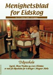 Menighetsblad for Eidskog Menighetsblad for Eidskog - Mediamannen