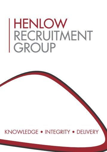Henlow Recruitment Group - Brochure