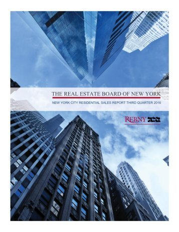 THE REAL ESTATE BOARD OF NEW YORK