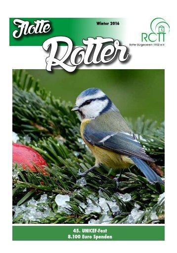 Flotte Rotter Winter 2016