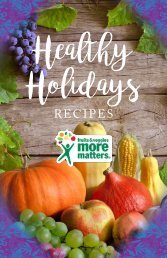 Healthy Holidays