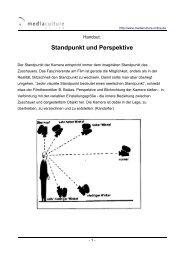 Standpunkt und Perspektive - Mediaculture online