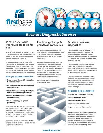 Firstbase Business Diagnostic Services