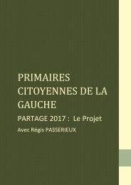 PRIMAIRES CITOYENNES DE LA GAUCHE