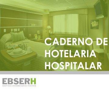 Caderno de Hotelaria - Modelo Geral