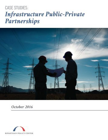Infrastructure Public-Private Partnerships