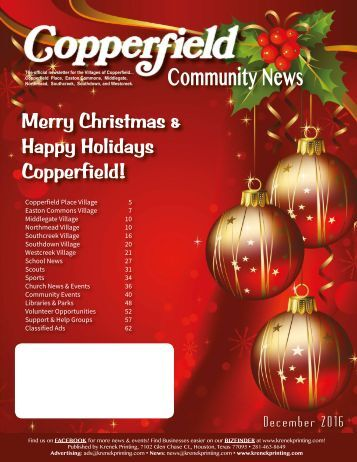 Copperfield December 2016