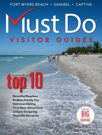 Must Do Fort Myers Visitor Guide Winter/Spring 2017