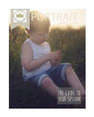 Portrait Session Guide