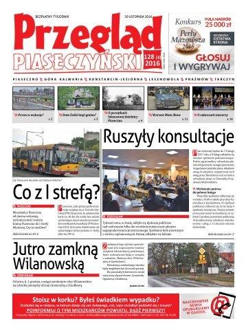 Przegląd Piaseczyński, Wydanie 128