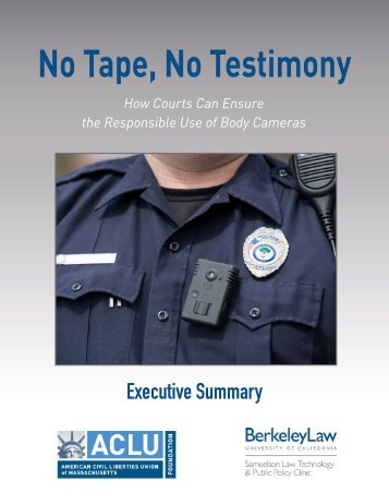 No Tape No Testimony