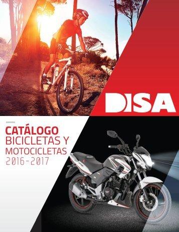 Catalogo DISA -  Bicicletas y Motocicletas 2016