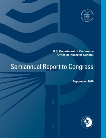 Semiannual Report to Congress