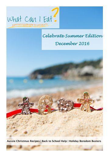 Celebrate Summer Edition - December 2016