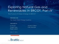 Exploring Natural Gas and Renewables in ERCOT Part IV