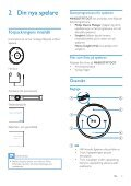 Philips GoGEAR Baladeur MP3 - Mode d'emploi - SWE - Page 7