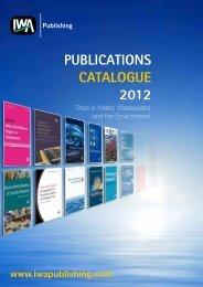 PUBLICATIONS CATALOGUE 2012 - IWA Publishing