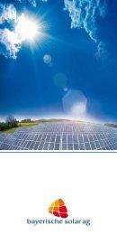Untitled - Bayerische Solar AG