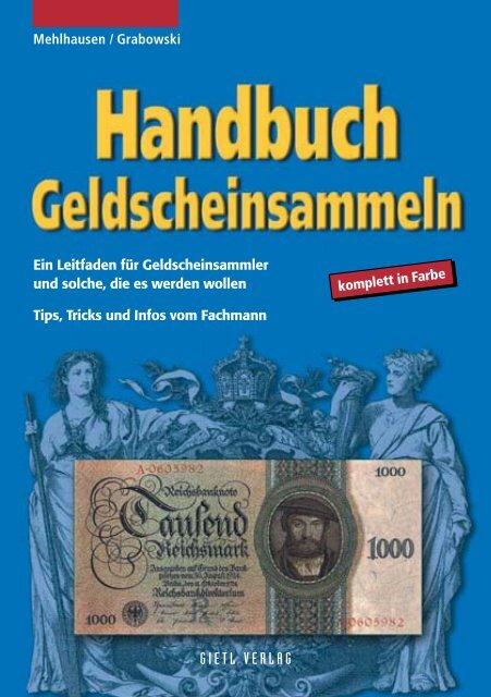 geldscheinsammeln - Gietl Verlag