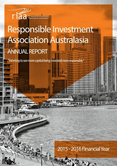 responsible investment association australasia countries