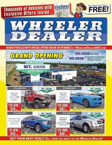 Wheeler Dealer Issue 49, 2016
