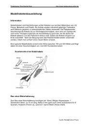 Modellraketenbauanleitung: - Mediaculture online