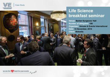 Life Science breakfast seminar