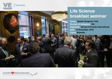 Life Science breakfast seminar