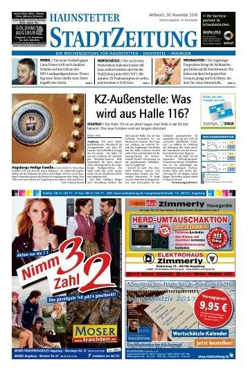 114 Augsburg - Haunstetten 30.11.2016