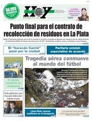 Punto final para el contrato de recolección de residuos en La Plata
