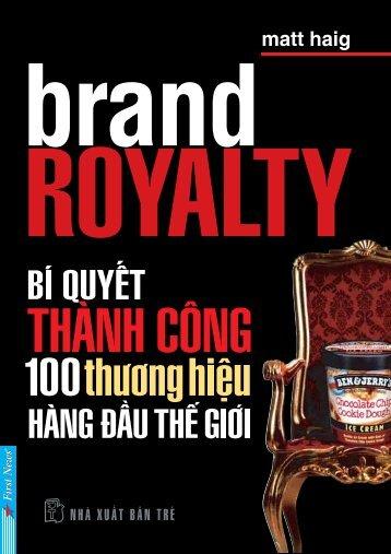 Bi quyet thanh cong 100 thuong hieu hang dau the gioi