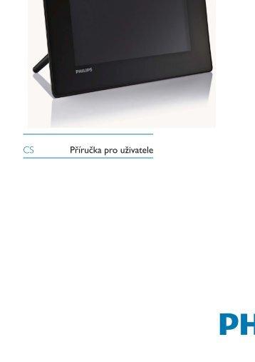Philips Cadre Photo numérique - Mode d'emploi - CES