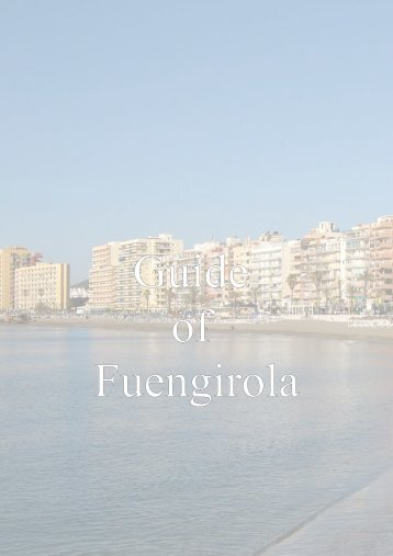 Fuengirola monuments,beaches and hotels
