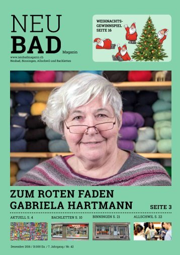 Neubadmagazin Dezember 2016