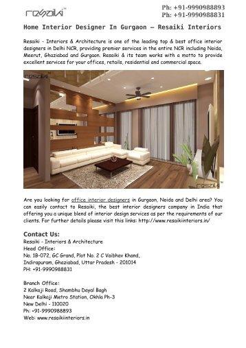 top interior design companies in delhi ncr interior designer in