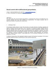 Paper_Sound control with multifunctional geosynthetics