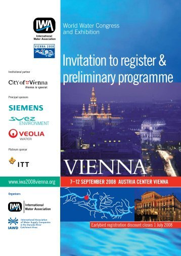 Invitation to register & preliminary programme - ICPDR