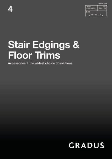 Catalogue - Stair Edgings & Floor Trims (4)