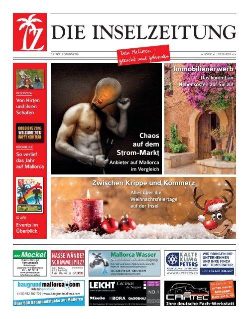 Die Inselzeitung Mallorca Dezember 2016