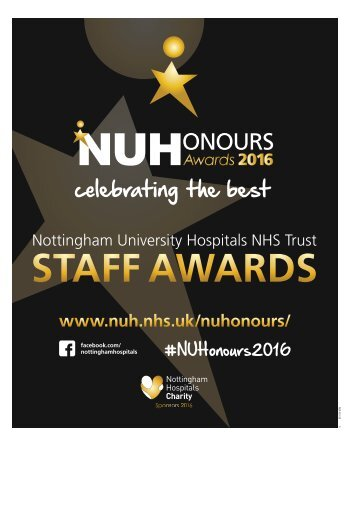 NUHonours 2016 Nottingham Post supplement