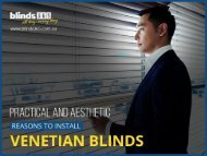 Why Venetian Blinds are the Popular Window Treatment