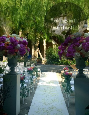 00. Italy - Weddings on the Amalfi Coast