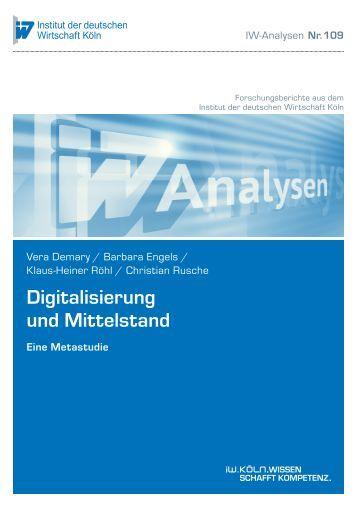 Digitalisierung und Mittelstand