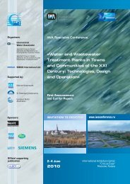 «Water and Wastewater Treatment Plants in Towns and ... - ASTEE
