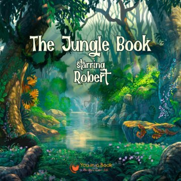 The Jungle Book personalized book